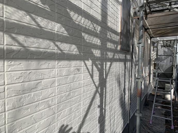 外壁 1F 中塗り完了【焼津市海野邸】.jpg