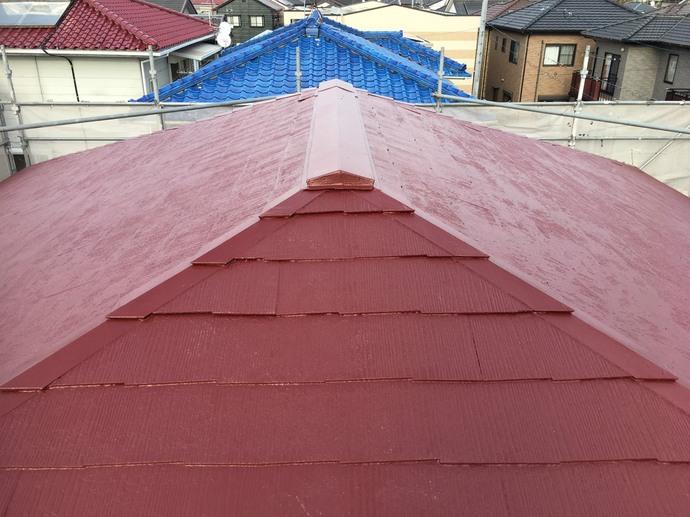 屋根 上塗り完了 .jpg