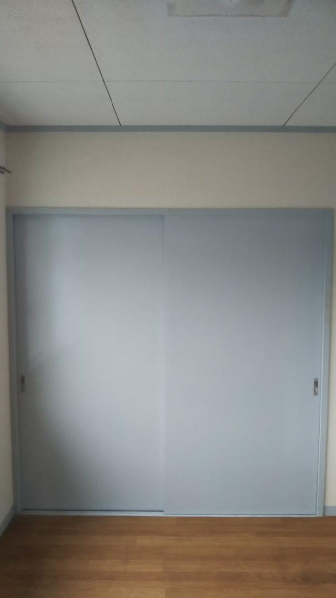洋室 押入れ 施工前【メゾンノア】.JPG