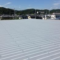とにかく暑かった折板屋根(事務所・工場)