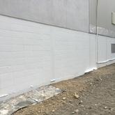 ブロック塀塗装工事(一般住宅)