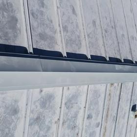 屋根棟板金の改修工事(一般住宅)
